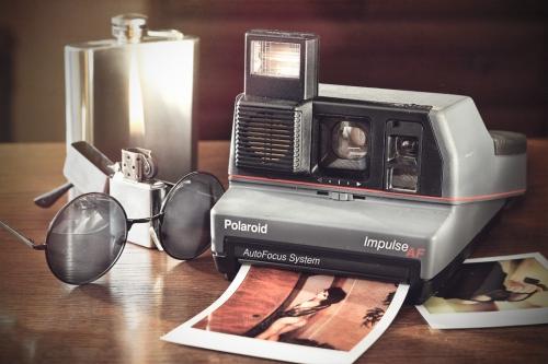 Polaroid Impulse AF szary copy (1)